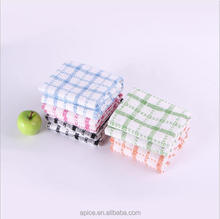 Yarn dyed 100% cotton kitchen cheap custom towel