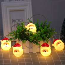 2018 new arrival china led lights christmas decoration light outdoor santa clause battery room lighting