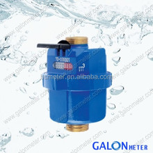 Rotary Piston Plastic Volumetric Water Meter