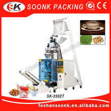 (SK-200ZT) Volumetric Dosing Piston Vacuum Pouch Tea Packaging Machine