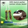 100% neutral rtv weather resistant silicone sealant products with super quality