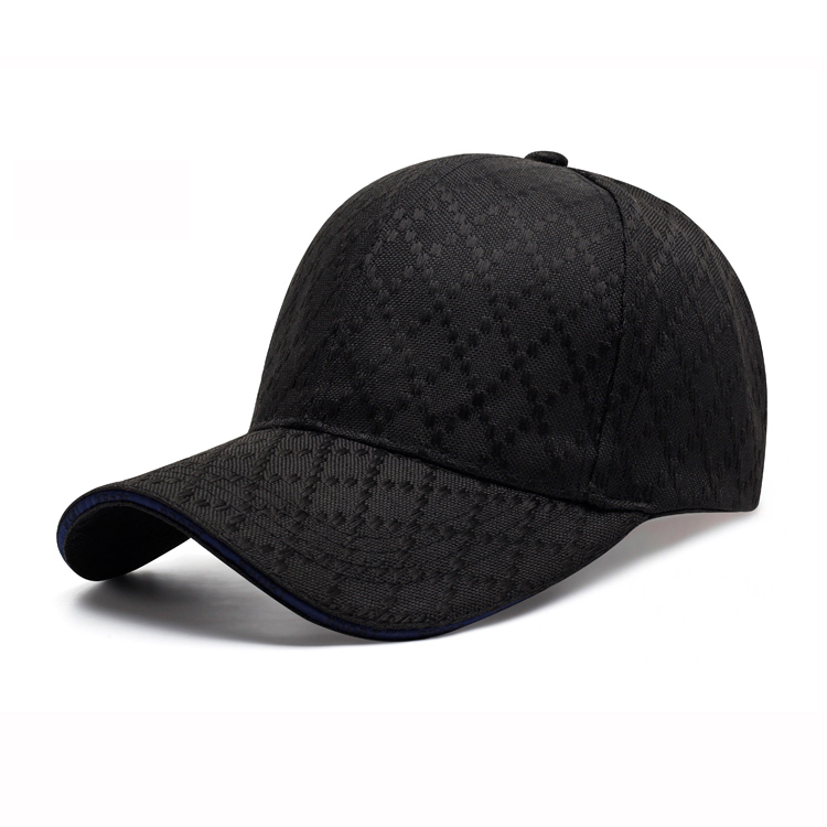 2017 fashion 100% polyester luxury quality plaid gentleman Baseball <strong>hats</strong> for mens