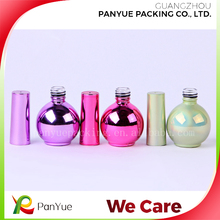 wholesale clear glass bottle uv gel nail polish bottle nail glue packaging bottle with brush