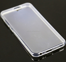 Top selling transparent ultra thin soft tpu clear back cover for HTC Desire 300