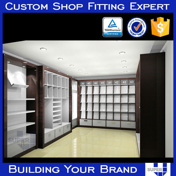 manufacture wooden display equipment projects for store design company