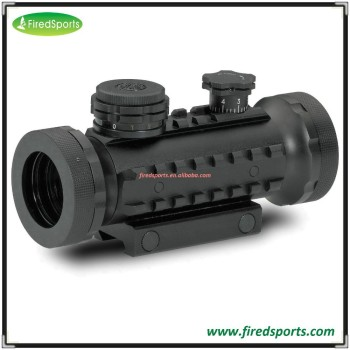 GSP0107-RG--Hot Sell High Quality 30-mm Stealth Tactical Illuminated Red, Green and Blue Dot Rifle night reflex Sight