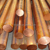 Small Size Straight Red Copper Rod 8mm With Competitive Price