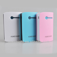 6000mAh portable Cellphone battery charger 6000 power bank for mobile phone iPad iPhone Nokia HTC gift power bank