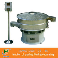 ultrasonic vibrating sieve for superfine particles