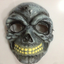 PM-183 Party mask factory Hot Sale New Design Plastic Scary Alien Full Face Mask for Halloween