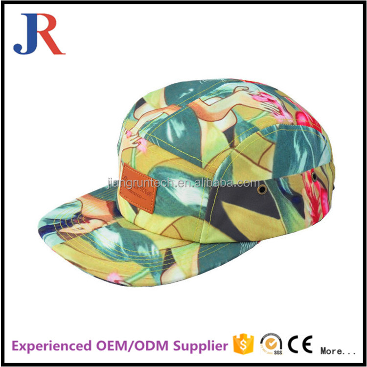 Wholesale new design custom leather patch logo snapback hats wholesale