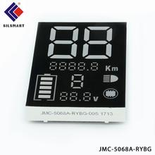 warm white Common Anode electronic substitute board led digital display for Ultrasonic cleanser