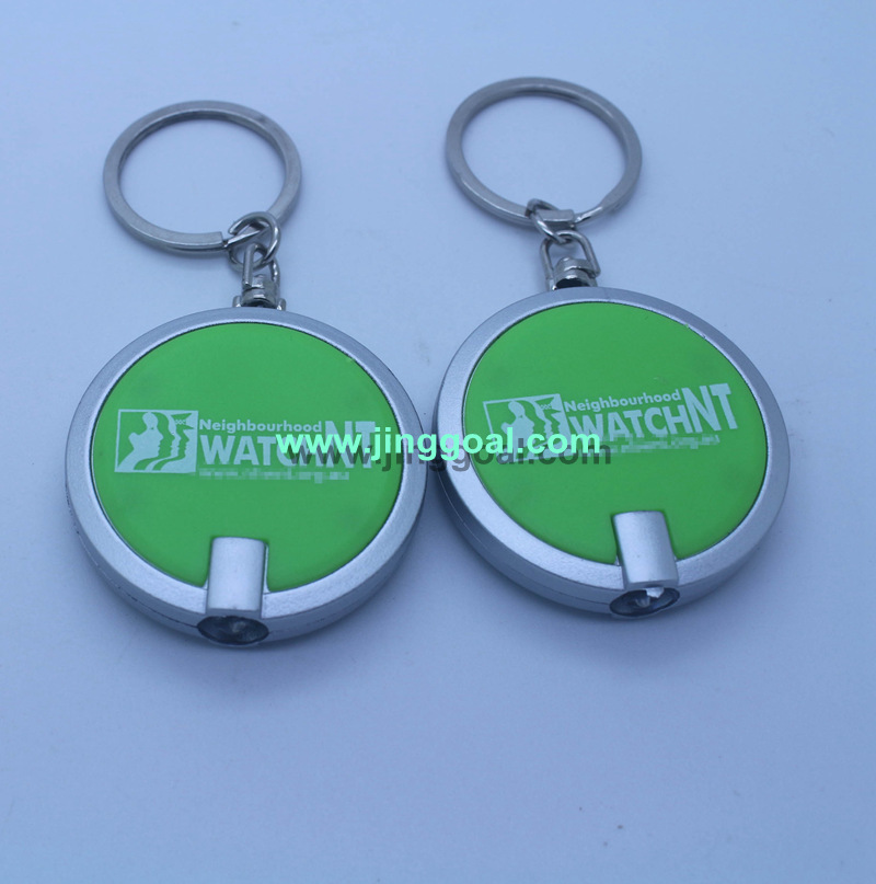 Promotion light keychain