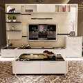 Customized easy installed TV set cabinet living room furniture