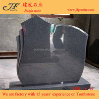 China New Impala G654 Granite Tombstone And Monument