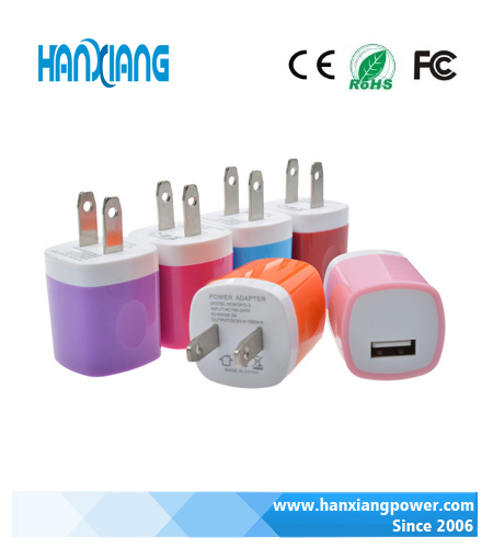 Consumer electronics mobile accessories phone home wall charger wholesale mini usb wall charge