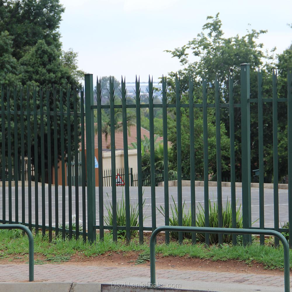 Beautiful metal garden fencing park guardrail palisade
