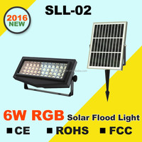 Solar Power Die Cast Aluminum Outdoor Led Flood Light Housing