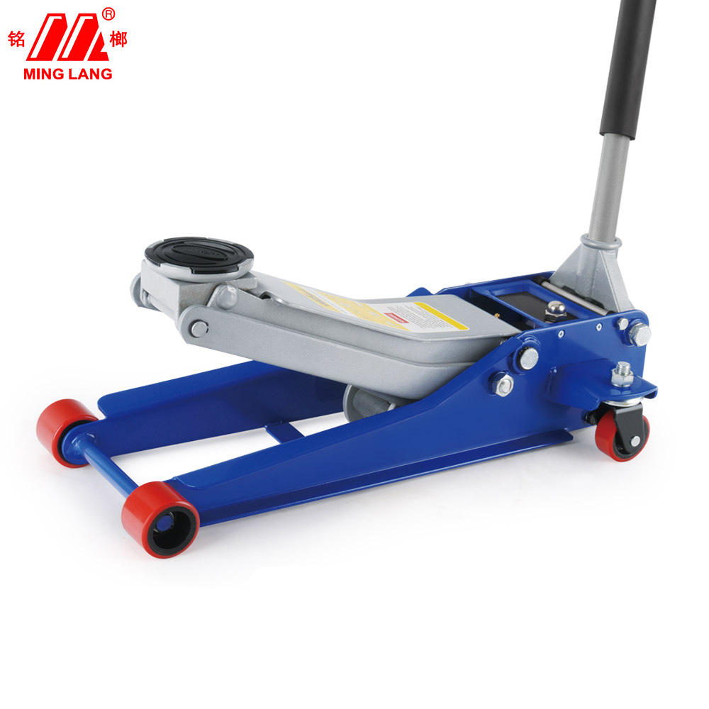 PU Wheel 3T professional garage jack, flooring jack,hydraulic jacks