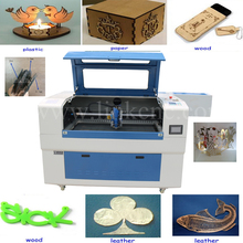 Homemade LXJ9060-H laser engraving machine mini/China popular wedding card laser cutting machine