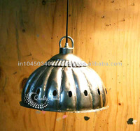 Silver Color Industrial Unique Hanging Lamps