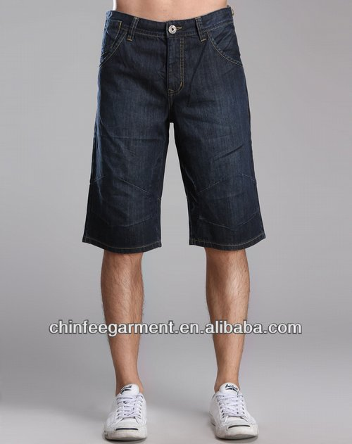 Men Fashion Short Jeans