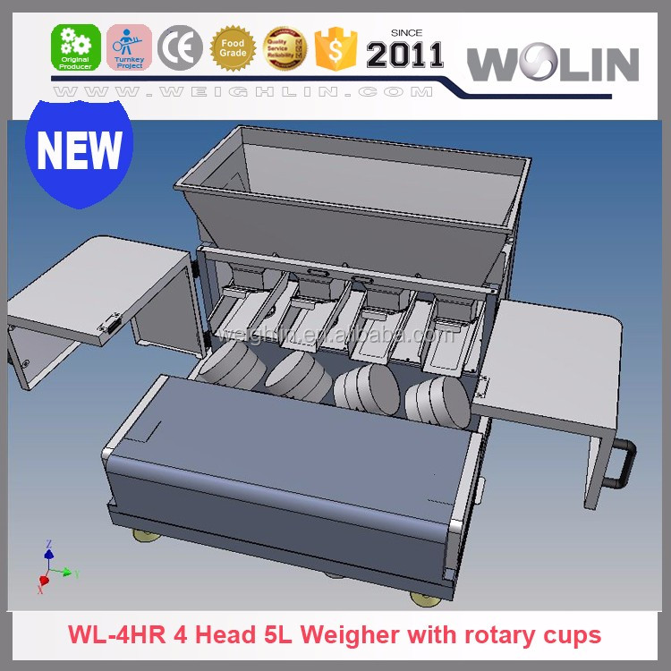 Auto electric weigher for metal powder filling