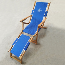 Factory high quality folding reclining beach chair