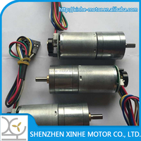 low speed low noise dB 30~50 variable geared motors