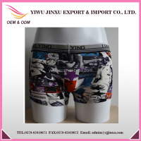 Men's Boxers Briefs Sexy Printed Women Picture Wholesale Men Trunks Underwear