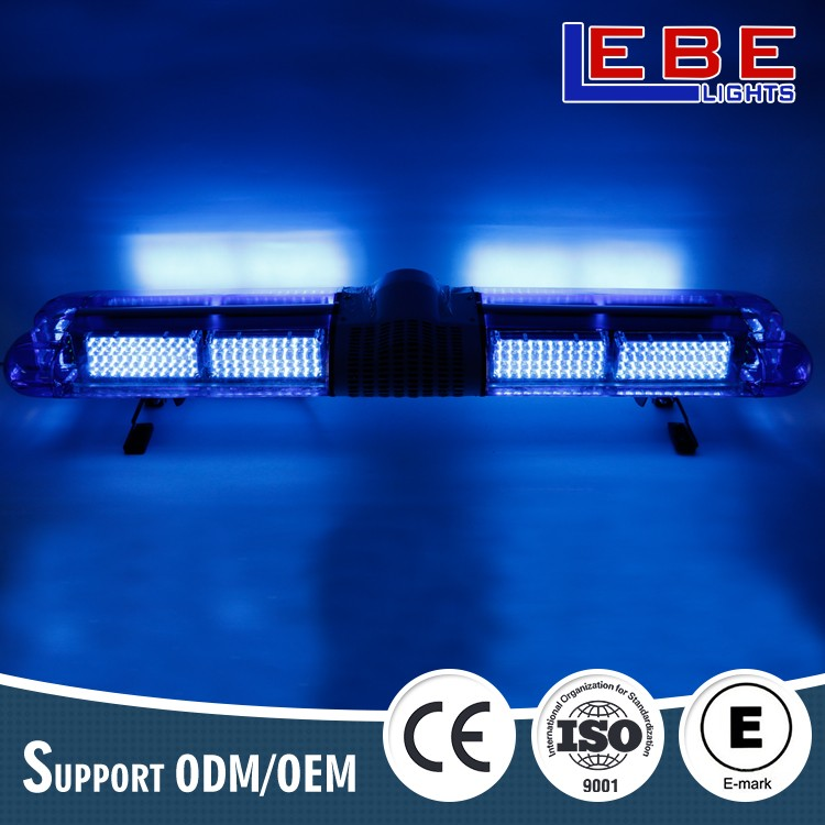 Best selling police blue ambluance fire fighter truck head led warning light bar LB909-47W