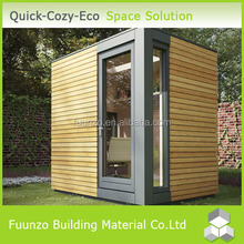Fire Insulation Easy Install Green Custom Double Security Cabin