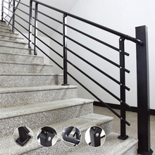 DIY Decorative Wrought Iron Indoor Stair Railings Panels