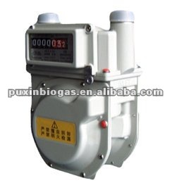 household gas flow meter