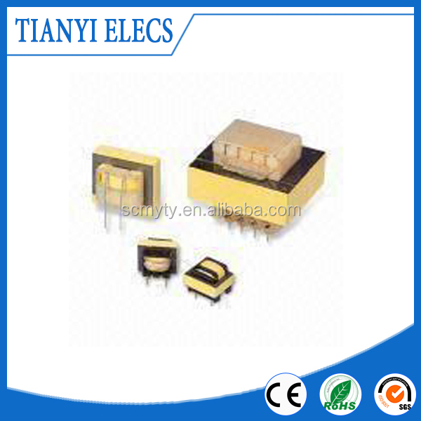 24V AC DC High Frequency Switching Power Supply Transformer Designed with EI Ferrite Core, TY004025