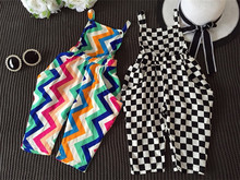 Spring Autumn Baby Cotton children Clothes White and Black Striped Girl Rompers Baby Clothing cotton one piece jumpsuit