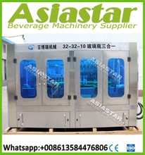 Glass Bottles Soft Drink/Carbonated Water Filling Machine/Line