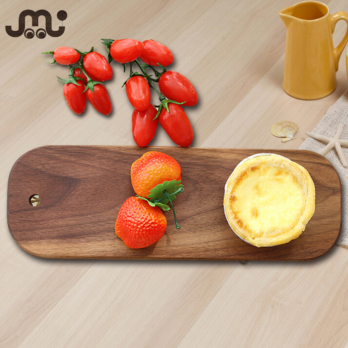 Customized any design solid serving wooden plate