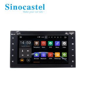 Smart Car DVD Player With GPS Navigation And Canbus Rear View Camera For 6.2 Inch Universal
