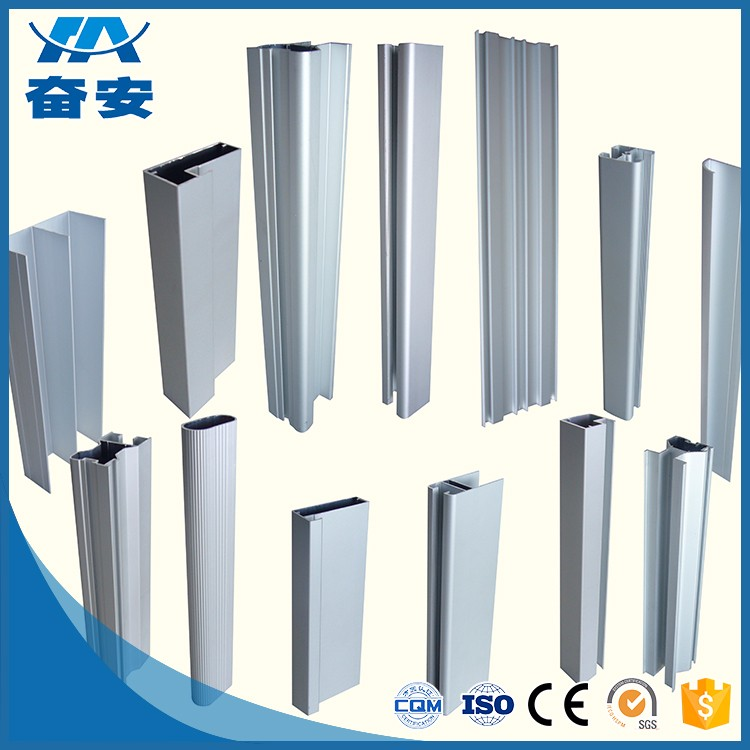Customized powder coated Environment Friendly Aluminium profile for furniture
