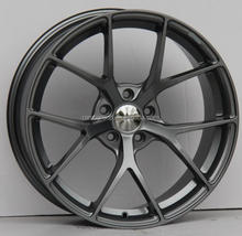 gun metal 19 inch racing car aluminum wheel rim/ car alloy wheel