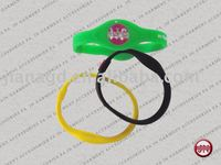 Silicone Power Health Wristband/Accept Customized Logo and Design