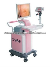 SW3303 Digital Optical Colposcope Trolley type with CE approved/Sony Camera/Gynecology Equipment