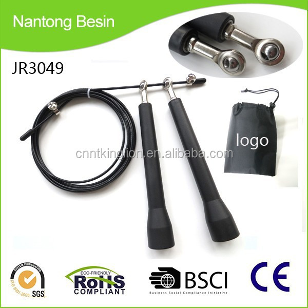 2015 hot sale adjustable cable wholesale crossfit speed jump rope