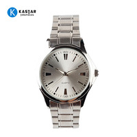 Stainless steel japan movt geneva quartz watches