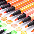 washable 12color marker pen for school(promotion)
