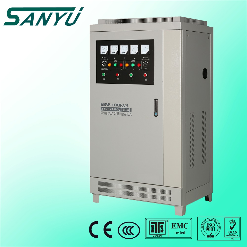 SBW 150KVA Servo motor Automatical 3 phase power stabilizer