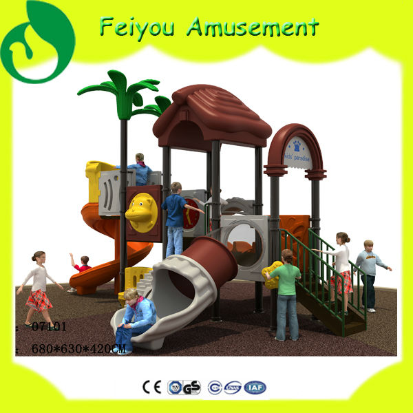 old fashioned playground equipment