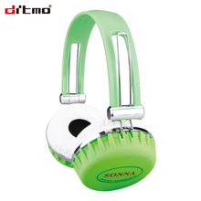 Stereo wired headset super bass mobile earphone with 3.5mm jack