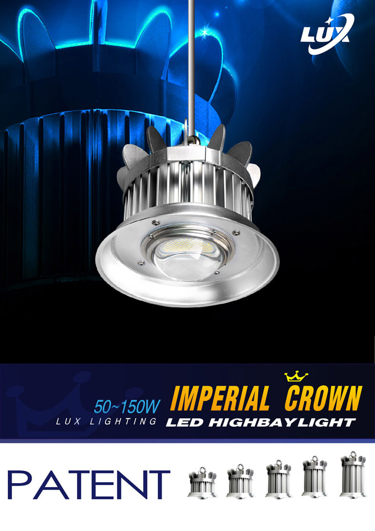 80W 100w 120w 150w 180w 200w ce&rohs led high bay light